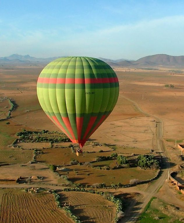 Hot Air Balloon Ride over Marrakech