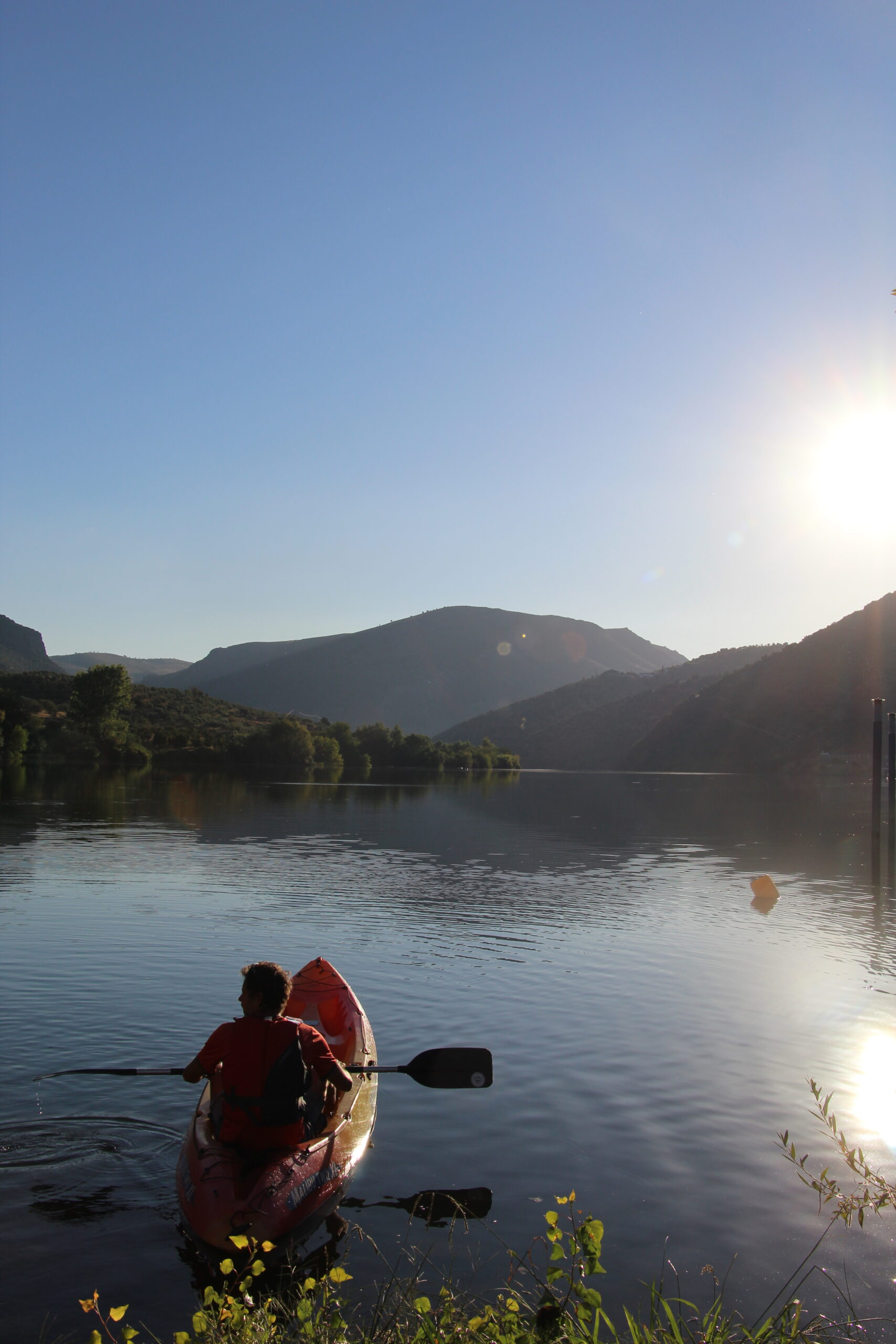 Kayaking in the Douro Valley